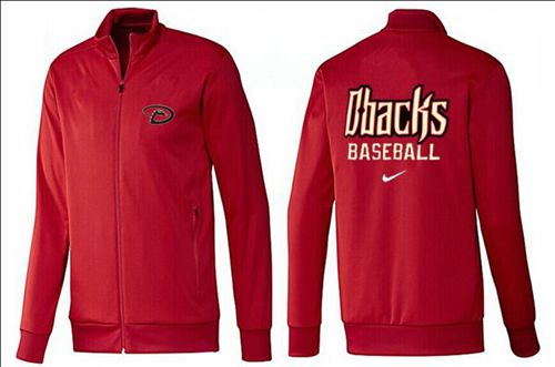 MLB Arizona Diamondbacks Zip Jacket Red