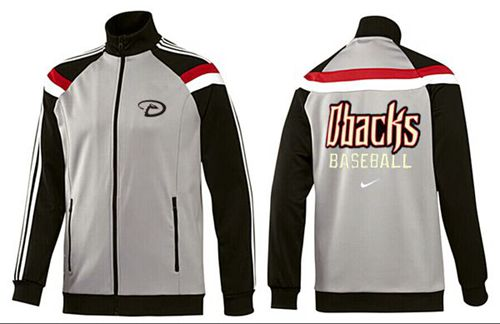 MLB Arizona Diamondbacks Zip Jacket Grey