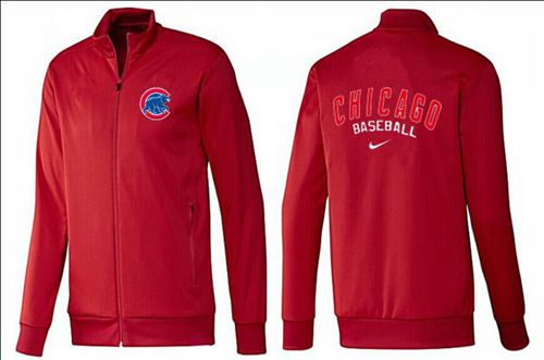 MLB Chicago Cubs Zip Jacket Red