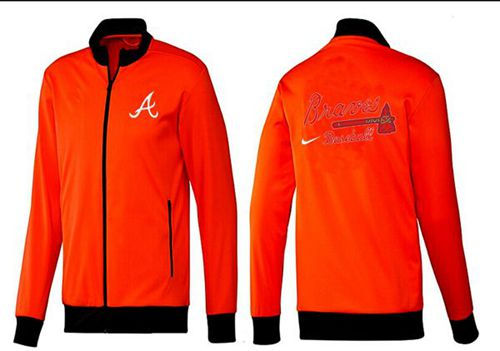 MLB Atlanta Braves Zip Jacket Orange