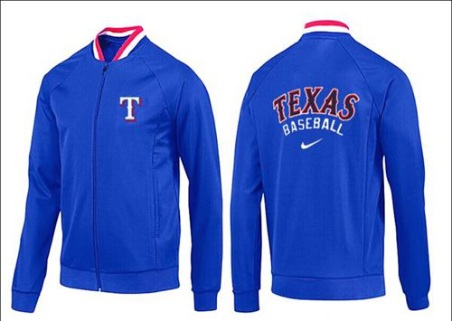 MLB Texas Rangers Zip Jacket Blue_2