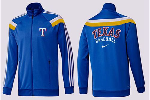 MLB Texas Rangers Zip Jacket Blue_3