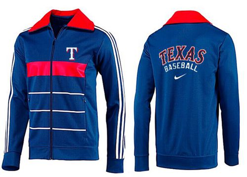 MLB Texas Rangers Zip Jacket Blue_5