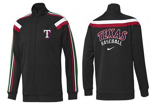 MLB Texas Rangers Zip Jacket Black