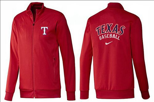 MLB Texas Rangers Zip Jacket Red
