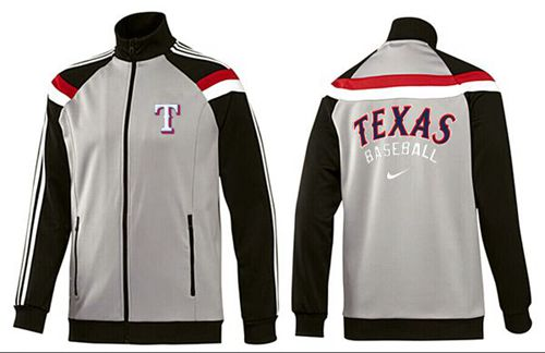 MLB Texas Rangers Zip Jacket Grey