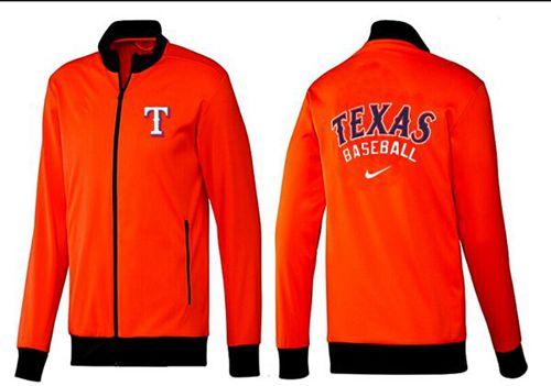 MLB Texas Rangers Zip Jacket Orange