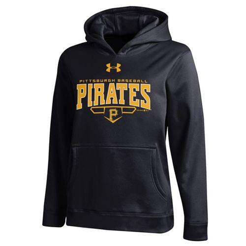 Pittsburgh Pirates Under Armou Fleece Black MLB Hoodie