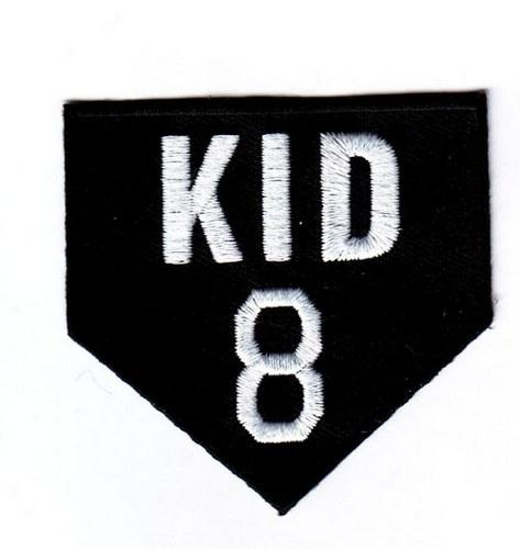 Stitched Gary Carter New York Mets Memorial Jersey Patch Kid 8 (2012)