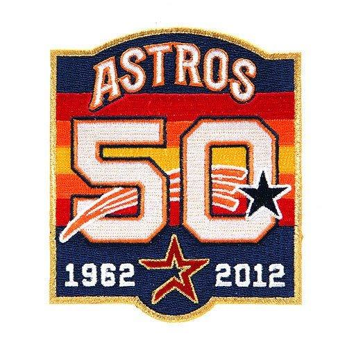 Stitched Houston Astros 50th Anniversary Jersey Patch