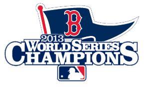 Stitched 2013 MLB World Series Champions Boston Red Sox Jersey Patch