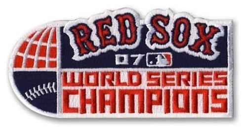 Stitched MLB 2007 Boston Red Sox World Series Champions Jersey Patch