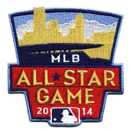 Stitched 2014 MLB All-Star Game Jersey Patch In Minnesota Twins (Target Field)