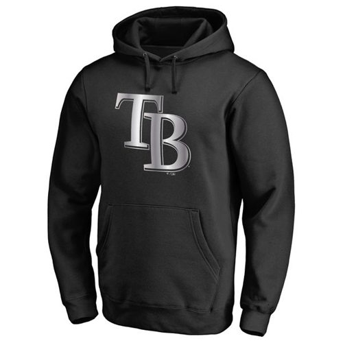Tampa Bay Rays Platinum Collection Pullover Hoodie Black