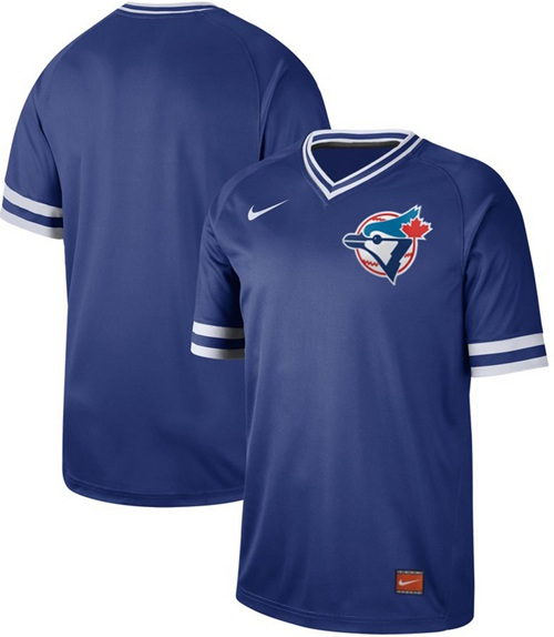 Nike Blue Jays Blank Royal Authentic Cooperstown Collection Stitched MLB Jersey
