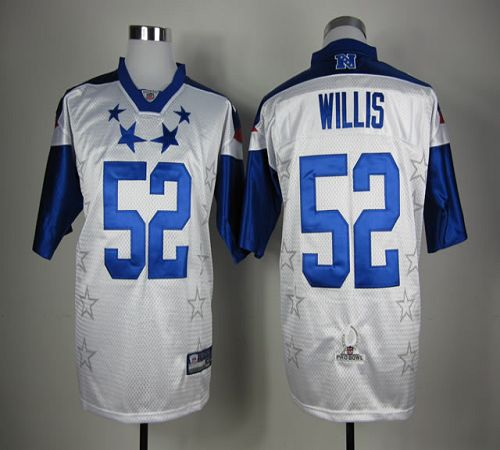 49ers #52 Patrick Willis White 2012 Pro Bowl Stitched NFL Jersey