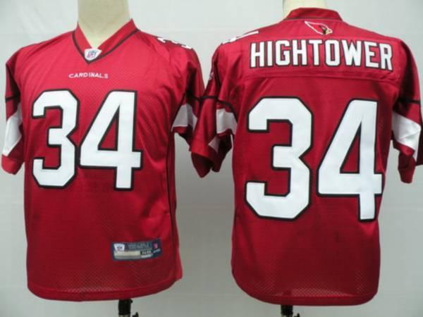 Cardinals #34 Tim Hightower Red Stitched NFL Jersey