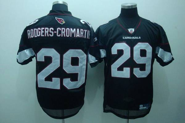 Cardinals #29 Dominique Rodgers-Cromartie Black Stitched NFL Jersey