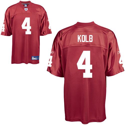 Cardinals #4 Kevin Kolb All Red Alternate Stitched NFL Jersey