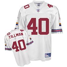 Cardinals #40 Pat Tillman White Stitched NFL Jersey