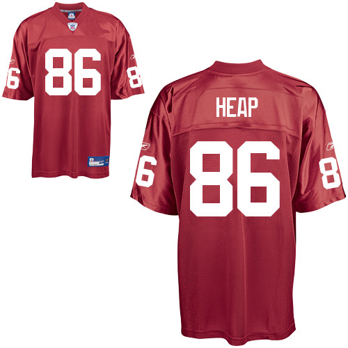 Cardinals #86 Todd Heap All Red Alternate Stitched NFL Jersey