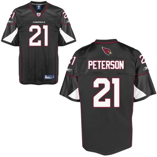 Cardinals #21 Patrick Peterson Black Stitched NFL Jersey