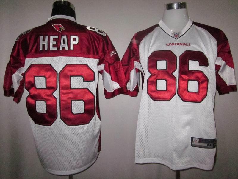 Cardinals #86 Todd Heap White Stitched NFL Jersey