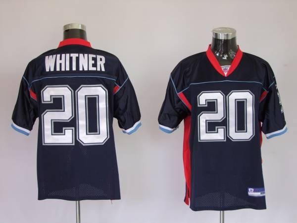 Bills #20 Donte Whitner Dark Blue Stitched NFL Jersey