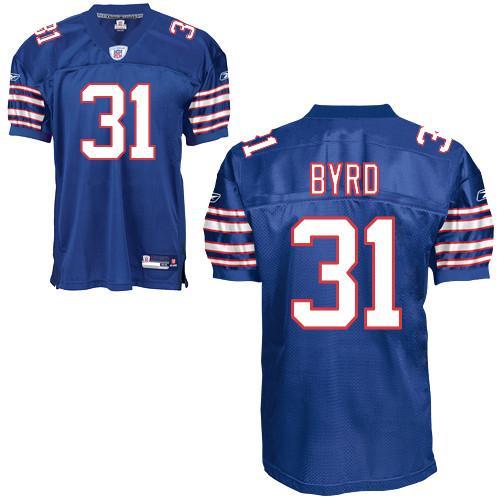 Bills #31 Jairus Byrd Baby Blue Stitched NFL Jersey