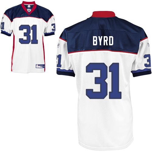 Bills #31 Jairus Byrd White Stitched NFL Jersey