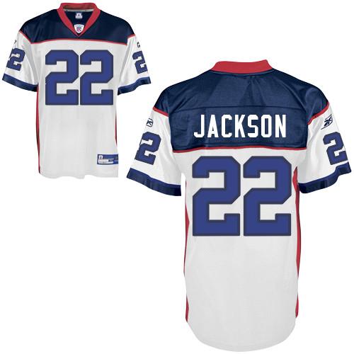 Bills #22 Fred Jackson White Stitched NFL Jersey