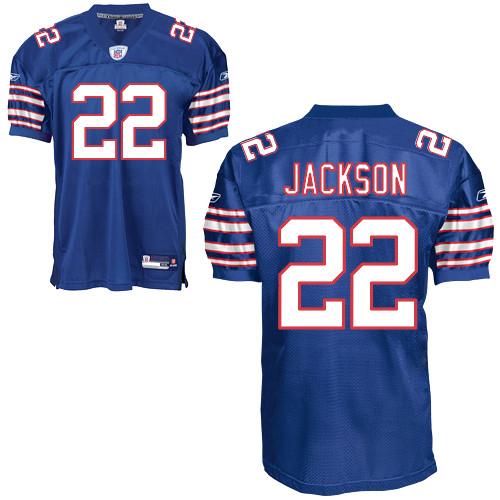 Bills #22 Fred Jackson Baby Blue Stitched NFL Jersey