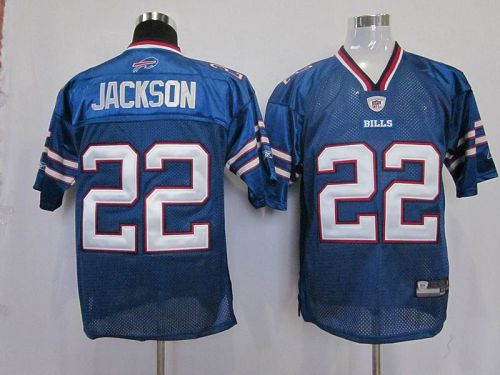 Bills #22 Fred Jackson Baby Blue 2011 New Style Stitched NFL Jersey