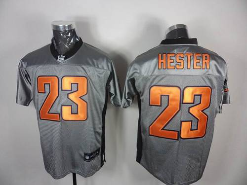 Bears #23 Devin Hester Grey Shadow Stitched NFL Jersey