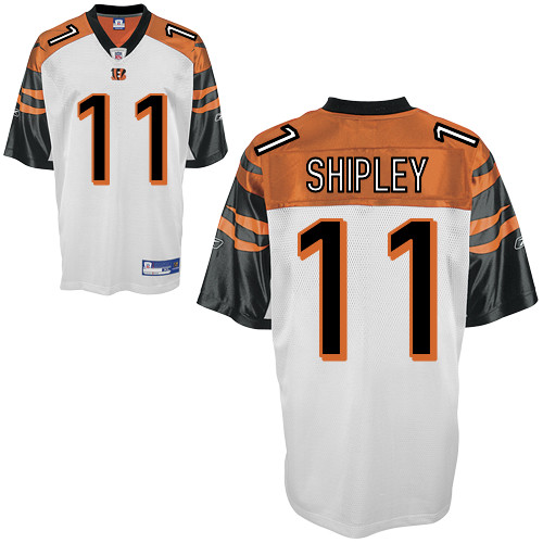 Bengals #11 Jordan Shipley White Stitched NFL Jersey