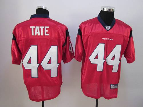 Texans #44 Ben Tate Red Stitched NFL Jersey