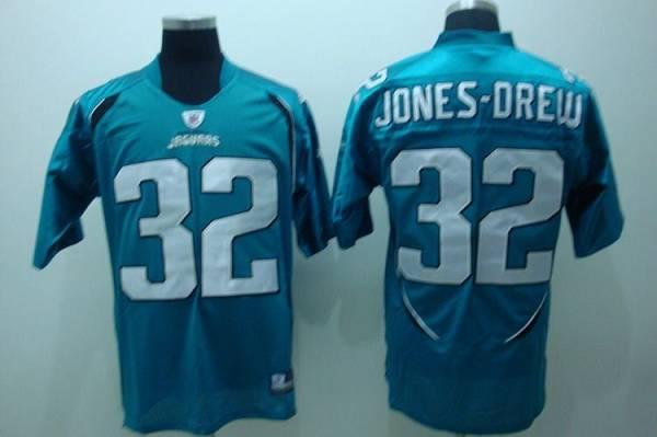 Jaguars Maurice Jones-Drew #32 Green Stitched Team Color NFL Jersey