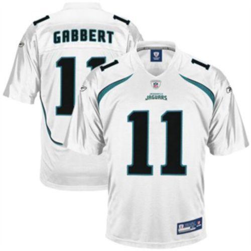 Jaguars #11 Blaine Gabbert White Stitched NFL Jersey