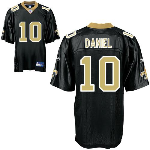 Saints #10 Chase Daniel Black Stitched NFL Jersey