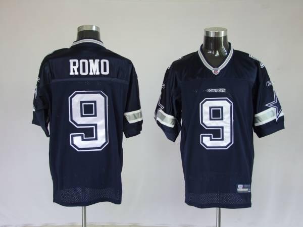 Cowboys #9 Tony Romo Blue Stitched NFL Jersey