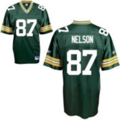 Packers #87 Jordy Nelson Green Stitched NFL Jersey