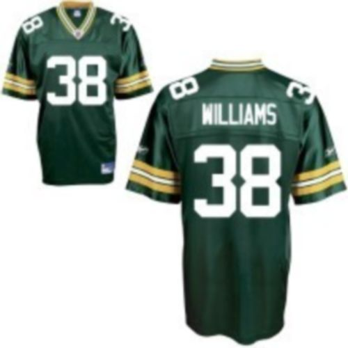 Packers #38 Tramon Williams Green Stitched NFL Jersey