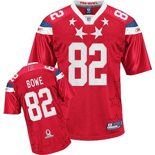 Chiefs #82 Dwayne Bowe 2011 Red Pro Bowl Stitched NFL Jersey