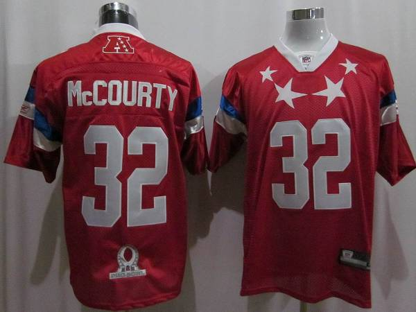 Patriots #32 Devin McCourty 2011 Red Pro Bowl Stitched NFL Jersey