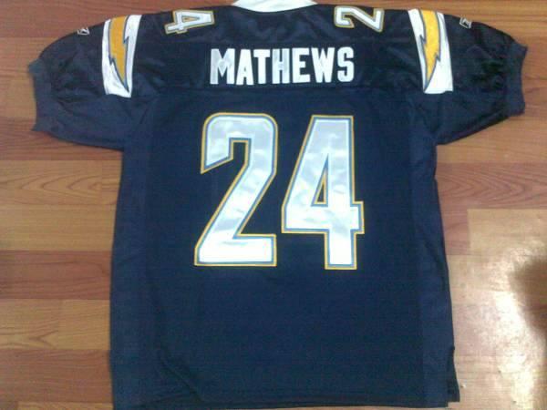 Chargers Ryan Mathews #24 Stitched Dark Blue Jersey