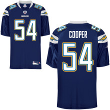 Chargers #54 Stephen Cooper Dark Blue Stitched NFL Jersey