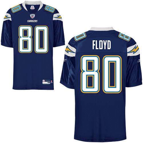 Chargers #80 Malcom Floyd Navy Blue Stitched NFL Jersey