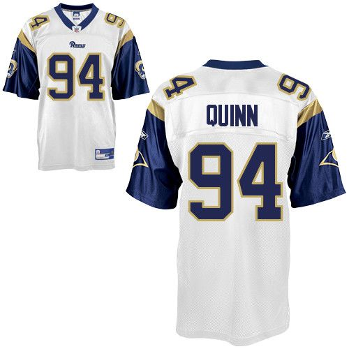 Rams #94 Robert Quinn White Stitched NFL Jersey