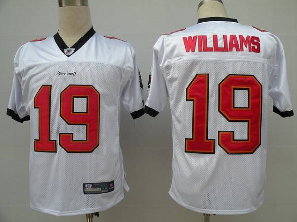Buccaneers #19 Mike Williams White Stitched NFL Jersey
