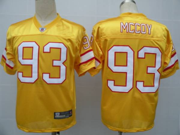 Buccaneers #93 Gerald McCoy Yellow Stitched NFL Jersey
